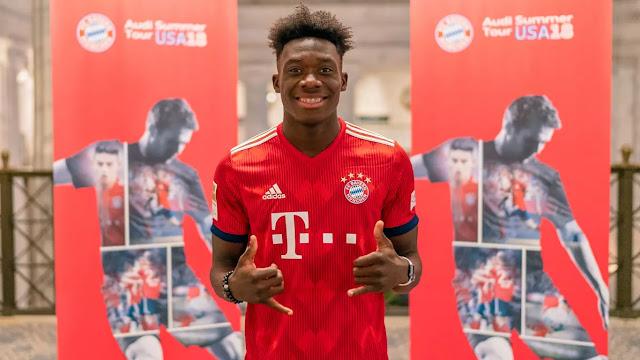 CHÍNH THỨC: Bayern phá kỉ lục mua thần đồng Canada