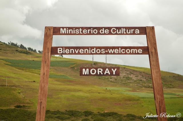 Site archéologique de Moray, Pérou