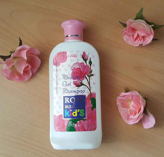 Rose Of Bulgaria Kid's Shower Gel Shampoo 2 in 1