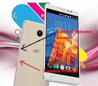 Cara Screenshot Smartfren Andromax L 4G LTE
