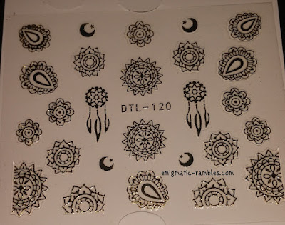 Review-Born-Pretty-Store-BPS-Metal-Nails-Stickers-3D-Nail-Decals-Roses-#DTL120