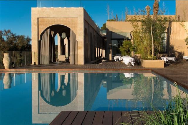 pisicna Sahrai hotel de lujo en Fez chicanddeco