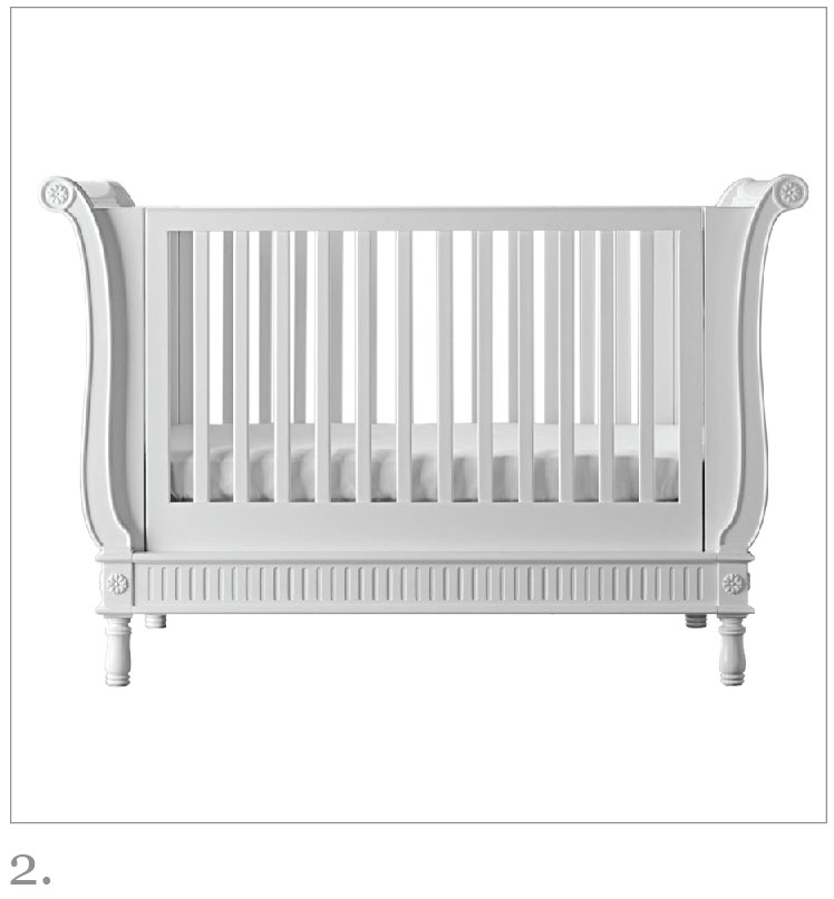 Belle Sleigh Cot