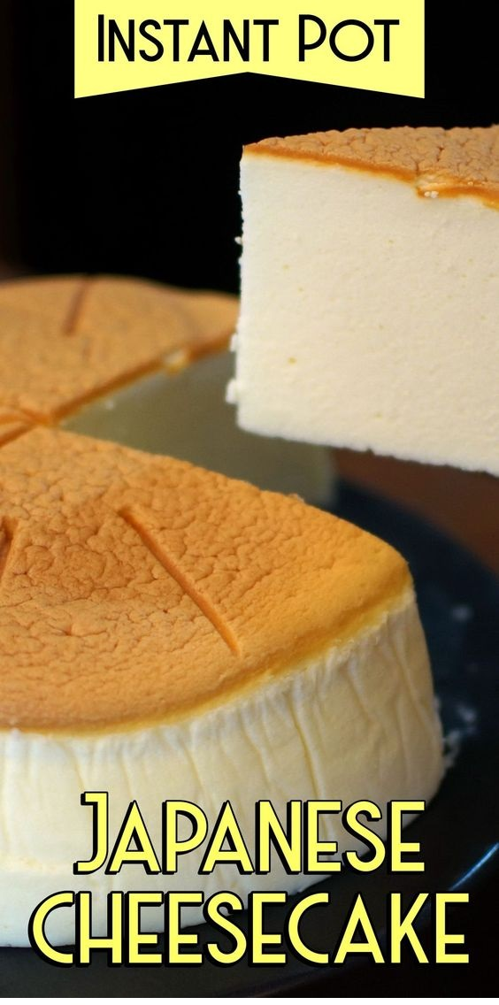 Pressure Cooker Cheese Cake