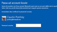 Passare da account Microsoft a account locale in Windows 10