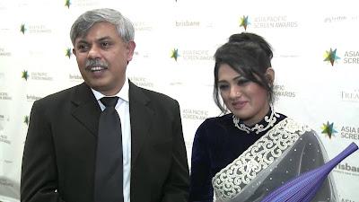 Nusrat Imroz Tisha with anisul hoque