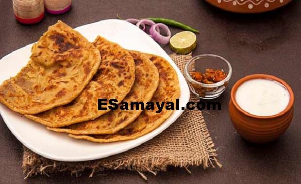 சின்ன வெங்காய சப்பாத்தி செய்வது | Make a Little Onion Chapati !