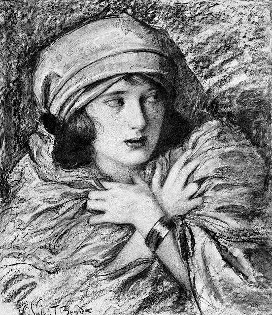 Wladyslaw Theodor Benda, an anxious woman
