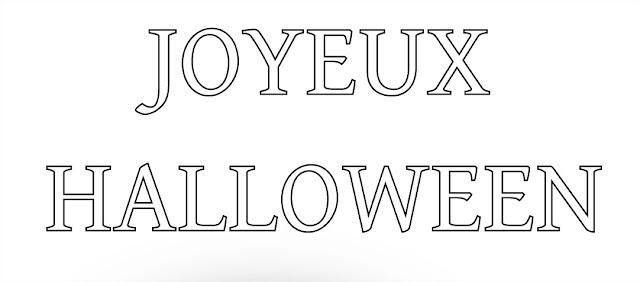 Joyeux halloween- happy halloween in french animated gif Images