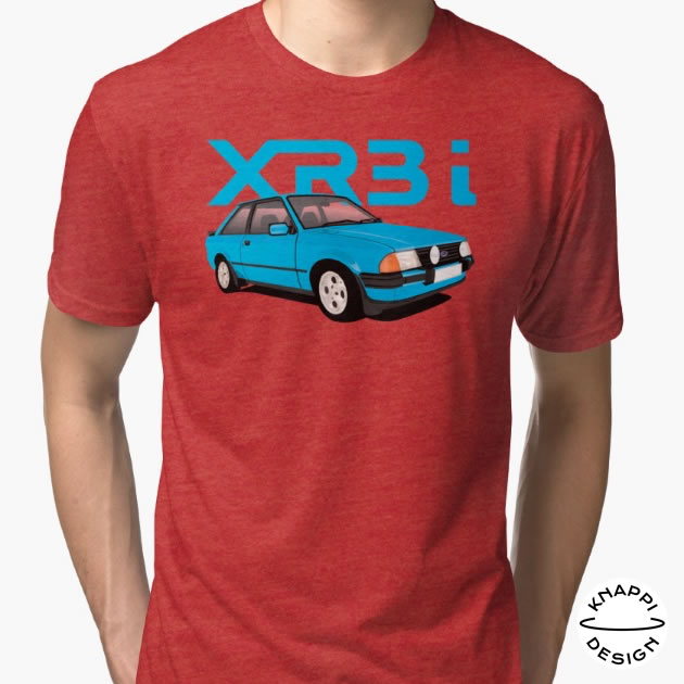 Ford Escort XR3i t-shirts in Redbubble
