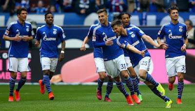Schalke 04 10 Besar Rangking Klub UEFA 2014/15