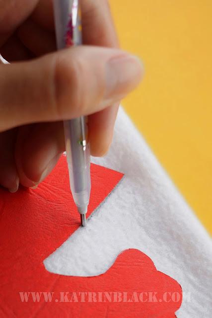 Como a costurar um gato Simon com suas próprias mãos?  Traduzir o padrão sobre o tecido