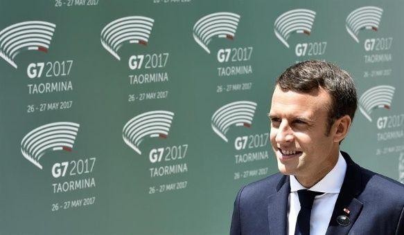 """""""Estados Unidos ha dado la espalda al mundo"""", acusa Macron"""