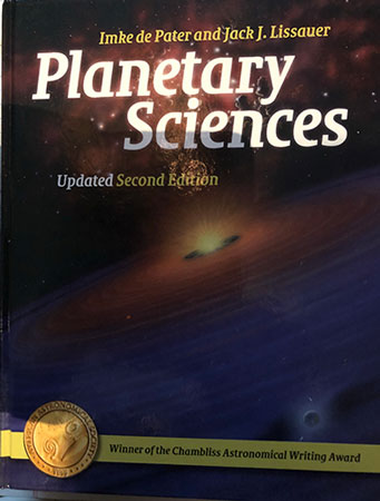 "During the scientific presentations, this citizen scientist looked up the terms used (Source: ""Planetary Sciences"")"