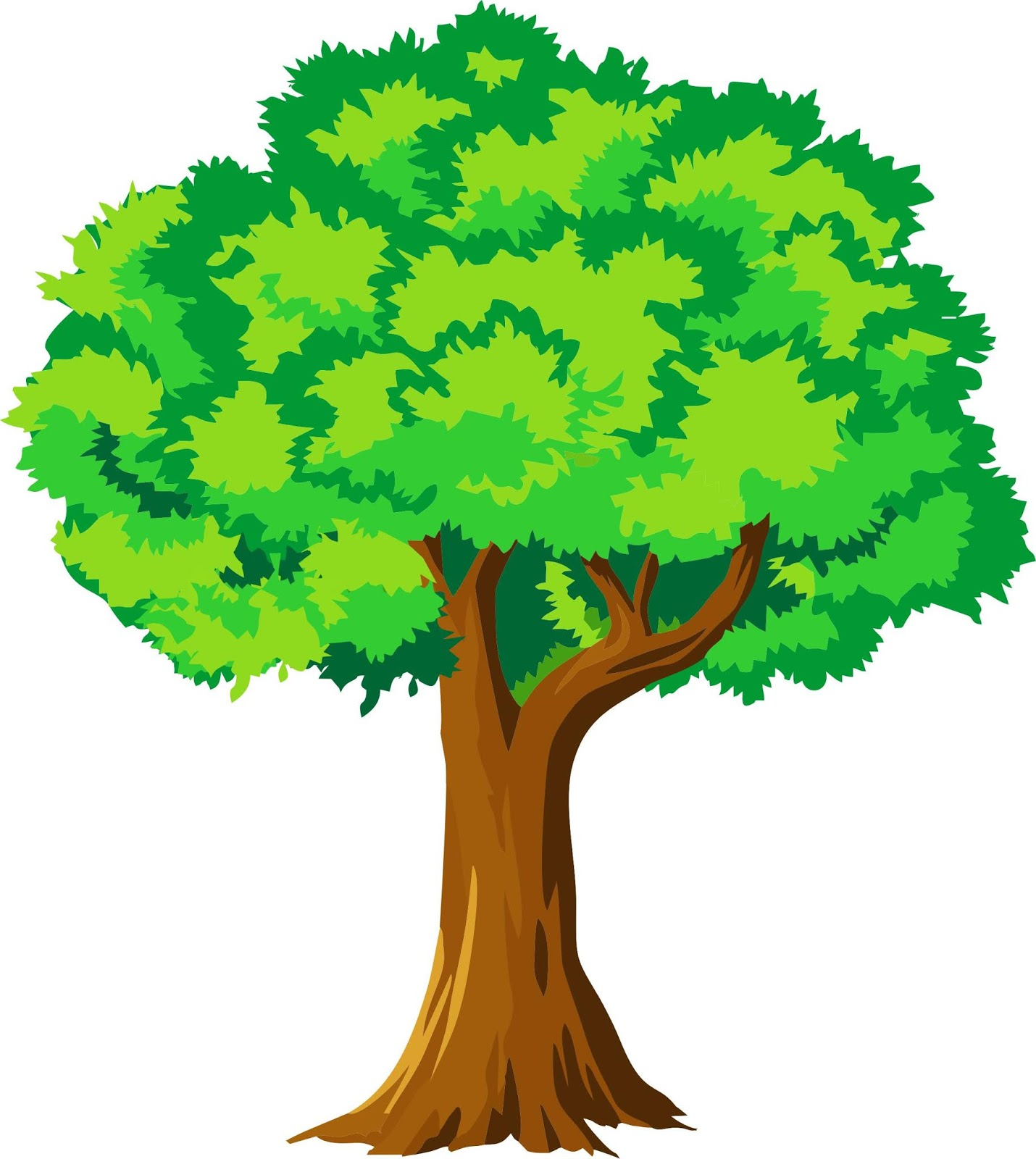 63 Gambar Pemandangan Pohon Kartun