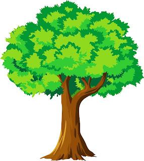 pohon kartun