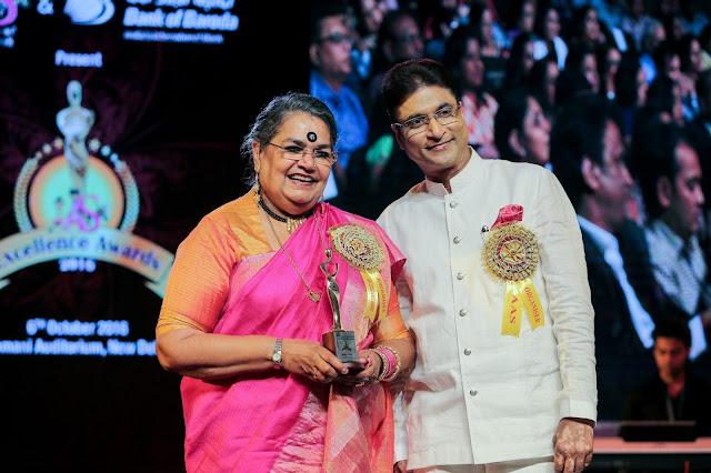 Usha Uthup and Virendra Kumar Goel
