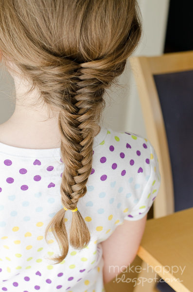 Make Happy Fishtail Fishbone Herringbone Braid