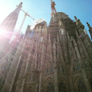 Catedral de la Sagrada Familia de Gaudí