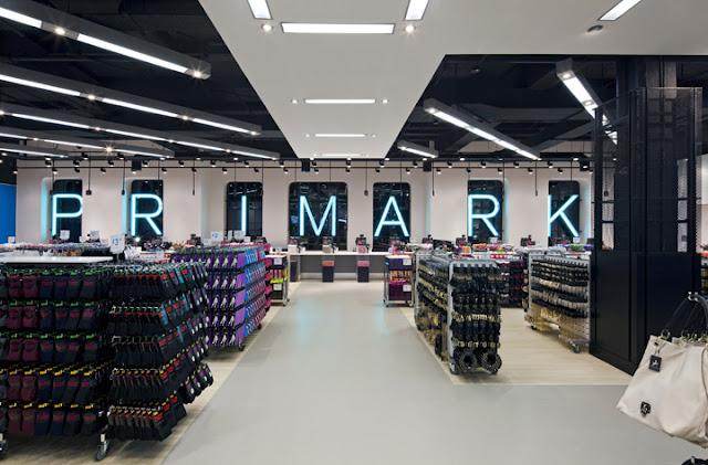Compras na Loja Primark em Londres