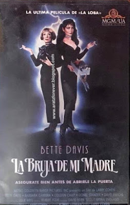 la bruja de mi madre, larry cohen, bette davis, barbara carrera