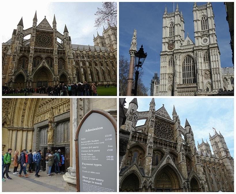 Diário de Bordo - 5 dias em Londres - Abadia de Westminster