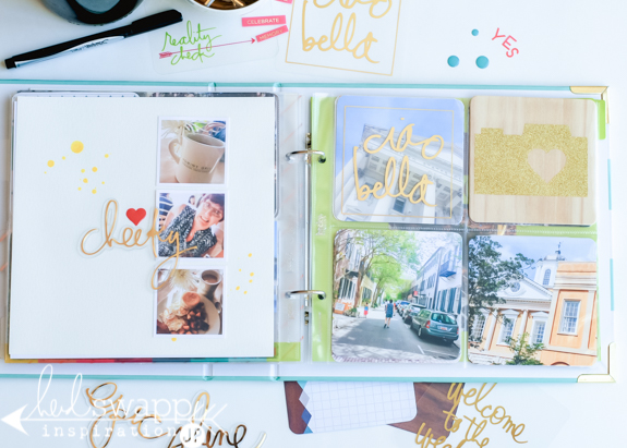 Anatomy of a Project Life Album | Several how-to's to create a Project Life 8x8 album be home to epic memories and merry making. @jamiepate for @heidiswapp