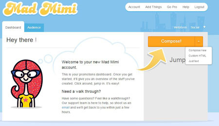 mad mimi templates - best free online email marketing tricks by r jdeep