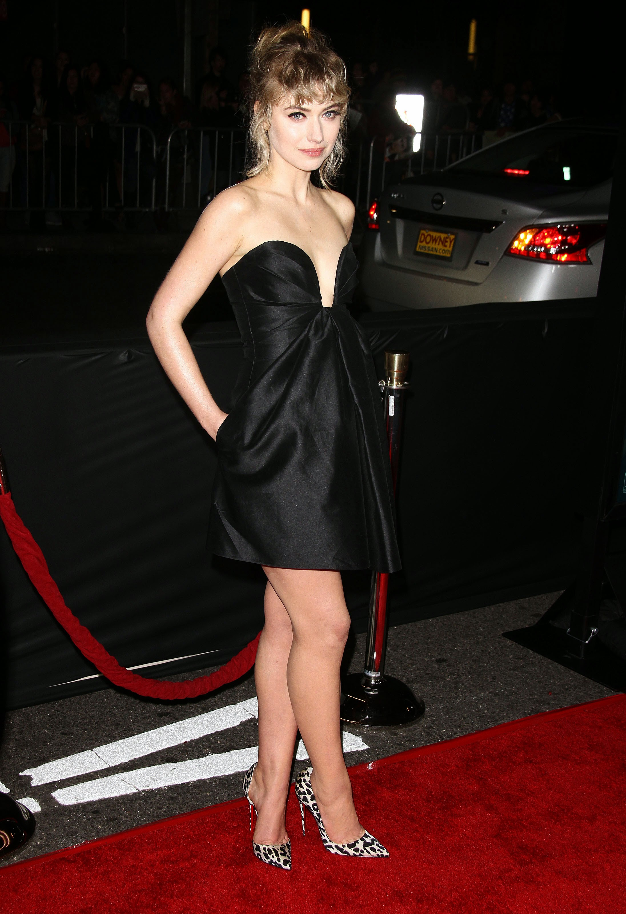 Cleavage Imogen Poots