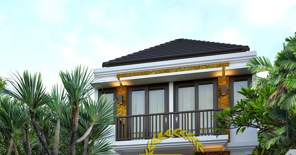 Desain Rumah Minimalis Modern 2 Lantai Lebar 6 Meter ...