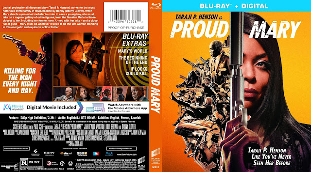 Proud Mary Bluray Cover