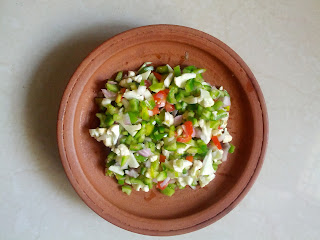 Cauliflower & Capsicum Salad
