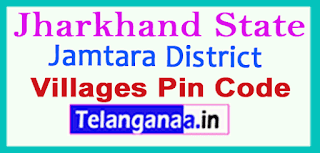 Jamtara District Pin Codes in Jharkhand State