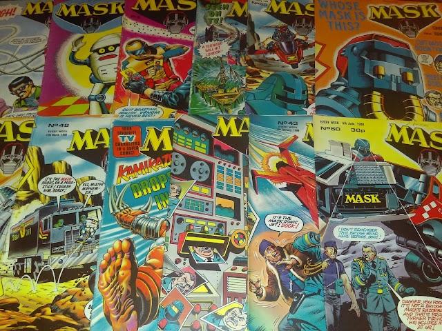 My First M.A.S.K. UK Comic Books