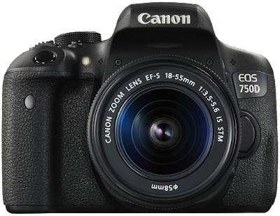 best entry level Canon cameras canon eos 750d