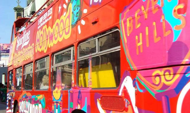 Como funciona o passeio de ônibus turístico em Los Angeles
