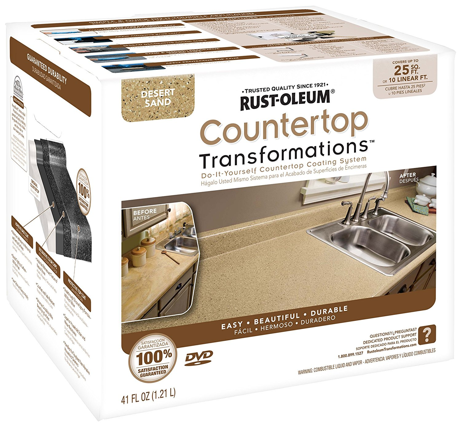 Rust Oleum Countertop Transformations 3 Year Review And
