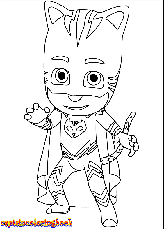 disney pj masks coloring pages - Free Download Coloring Pages