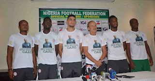 RUSSIA 2018: SUPER  EAGLES  SHOW  SUPPORT  FOR  IKEME  AS  AKPEYI  GETS  INJURED