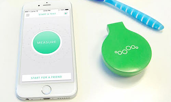 Breathometer Mint - medidor de mau hálito - Gadget