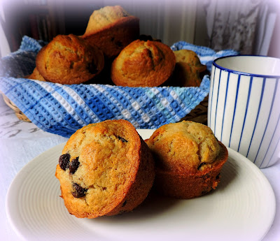 Bake Shop Chocolate Chip Muffins
