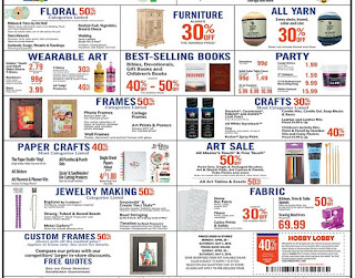 Hobby Lobby Weekly Ad Preview May 5 - 11, 2019