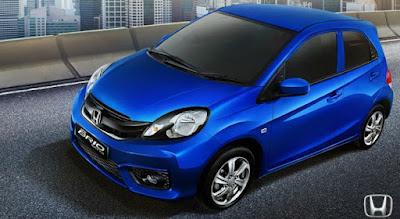 2016 Honda Brio Facelift blue side image