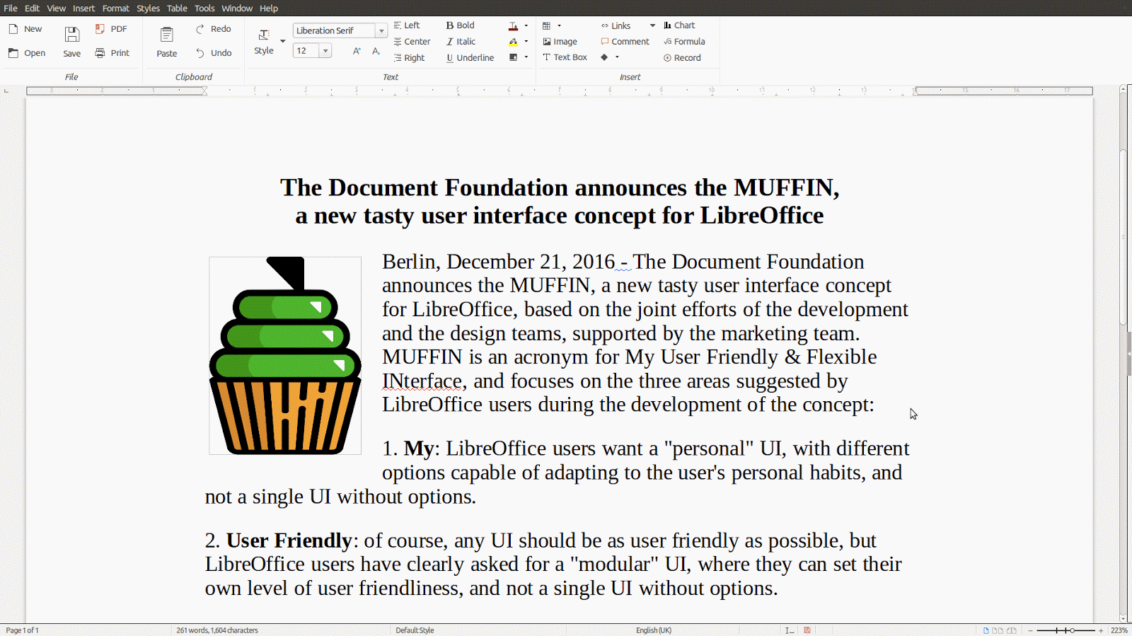 open source software usability libreoffice updating its user here s a mock up of the notebook toolbar from the design blog showing the notebook toolbar under different circumstances