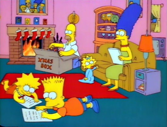 The Simpsons first episode 1989 - 2