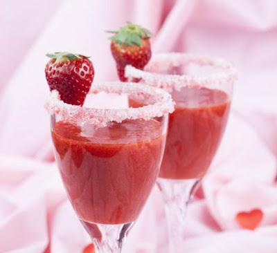 Licuado de fresa para adelgazar de forma natural