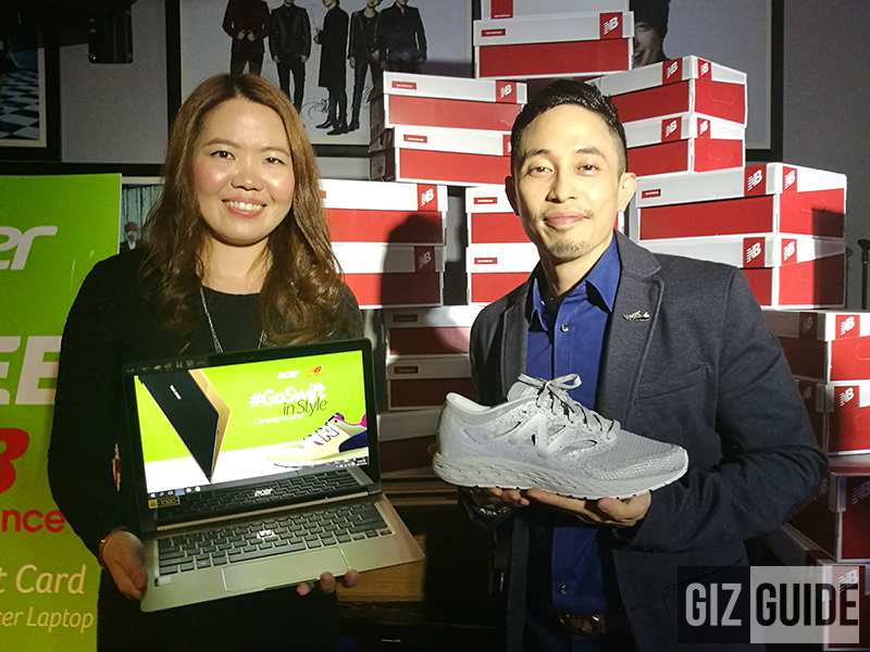 gizguide-acer-new-balance Acer Partners With New Balance, Get FREE Shoes For Qualified Swift Laptops! Technology