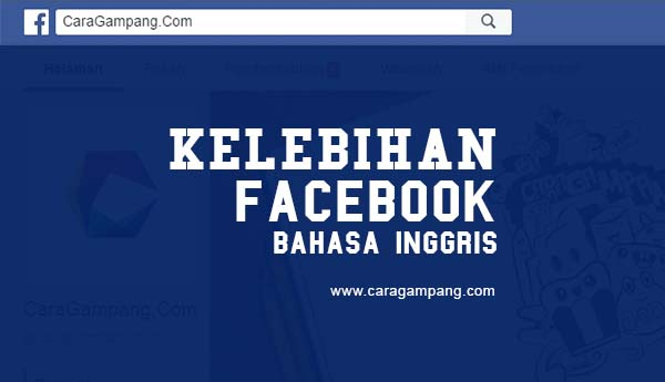 Kelebihan Facebook Menggunakan Bahasa Inggris