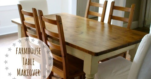 That S My Letter Quot F Quot Is For Farmhouse Table Makeover