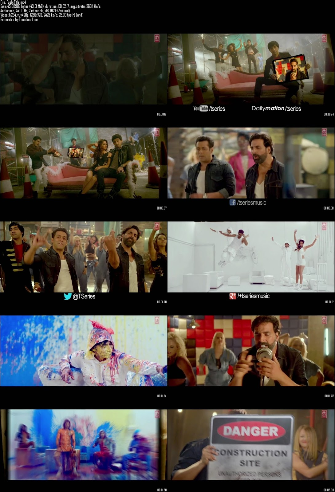 Mediafire Resumable Download Link For Video Song Fugly Fugly Kya Hai Title Song - Fugly (2014)